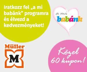 Müller - a mi babánk program feliratkozás